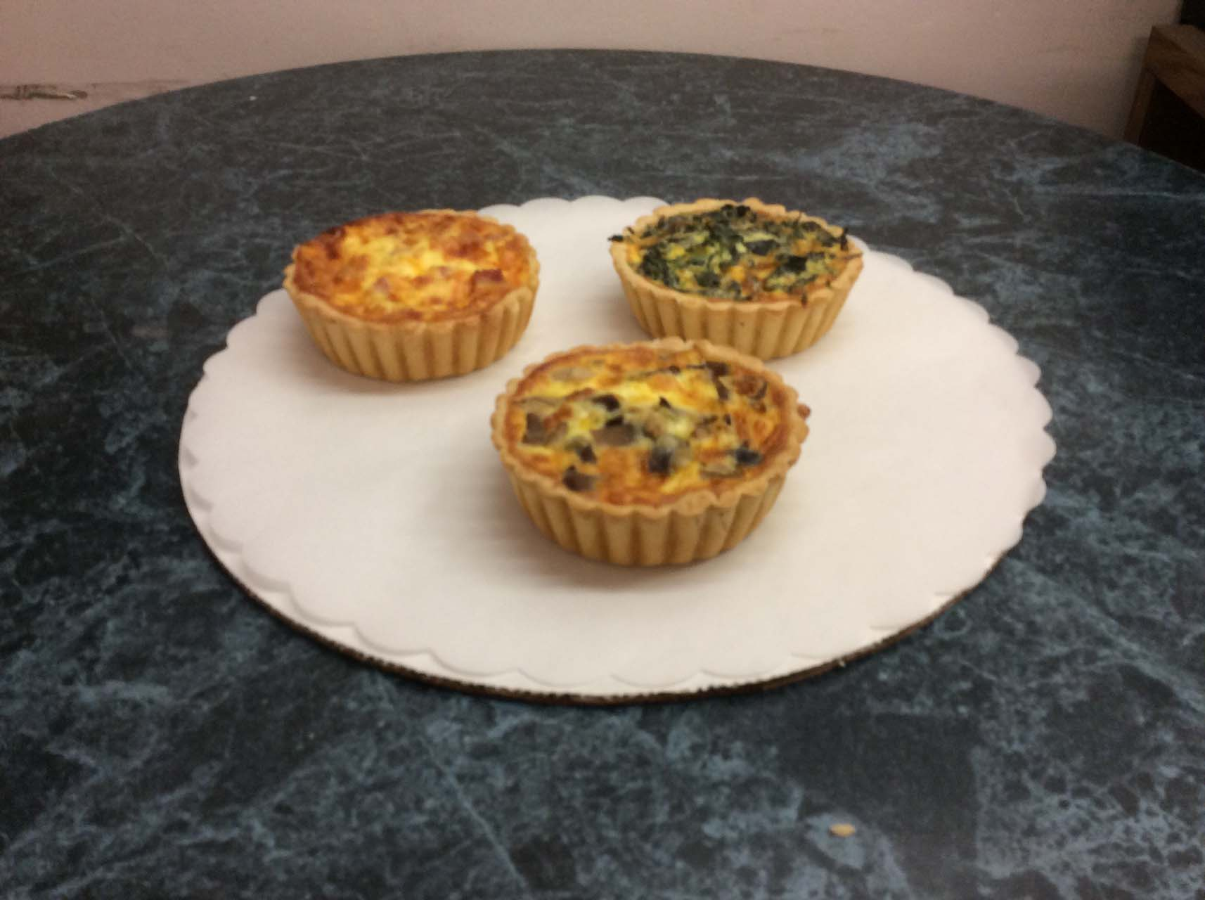 douce bakery quiches